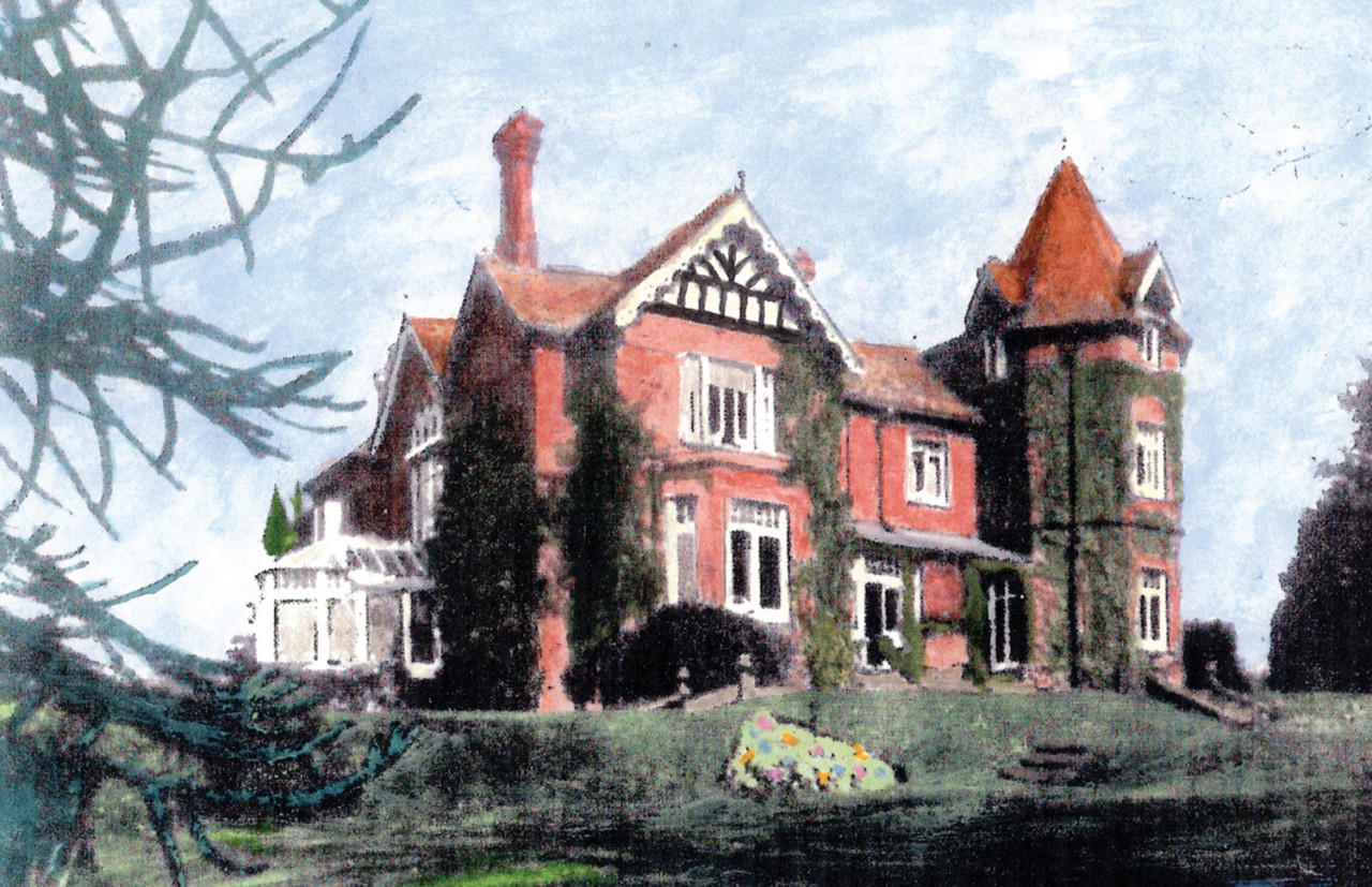 Earlier painting of The King's Court Centre